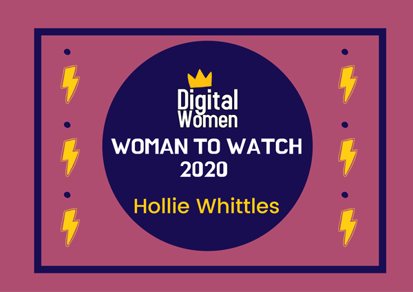 Hollie Whittles Digital Women 2020