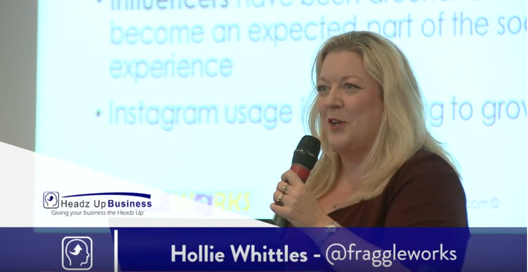 Hollie Whittles - FraggleWorks - Speaker